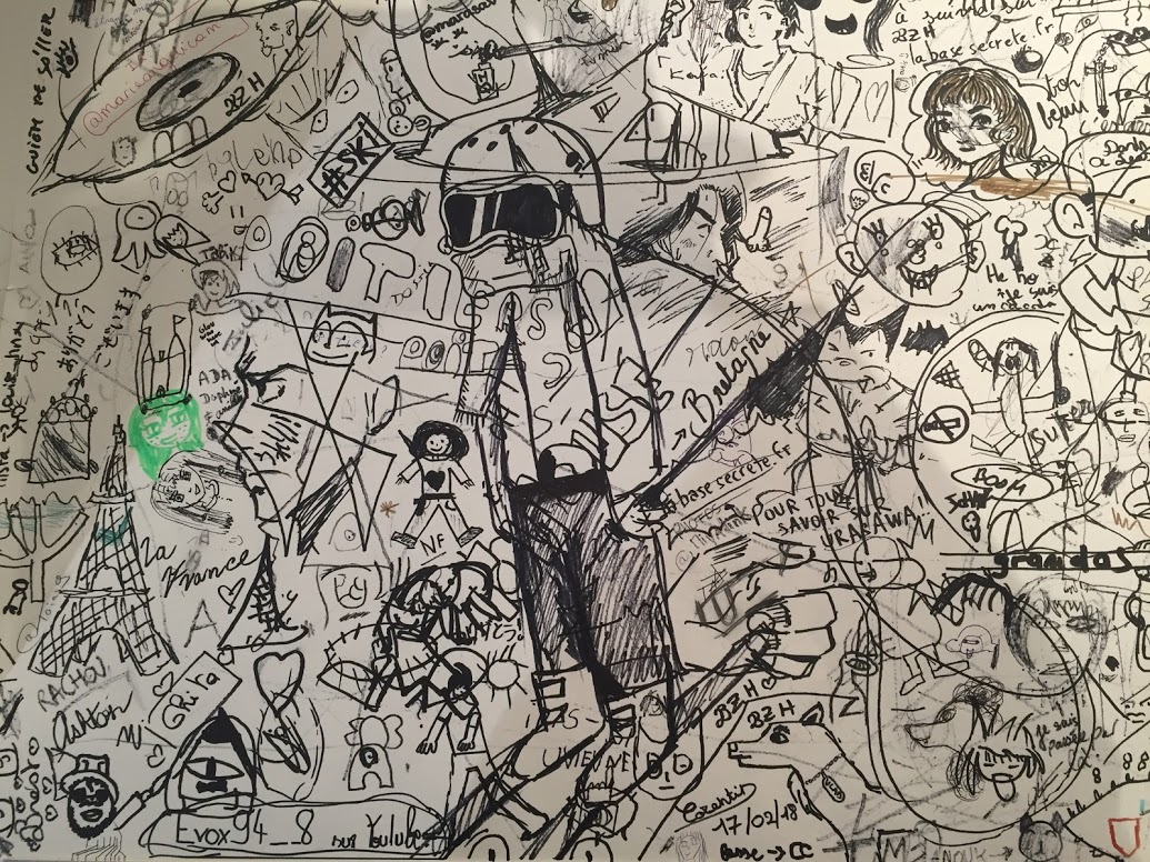 Gribouillage public - L'art de Naoki Urasawa - ÉOLE Paris