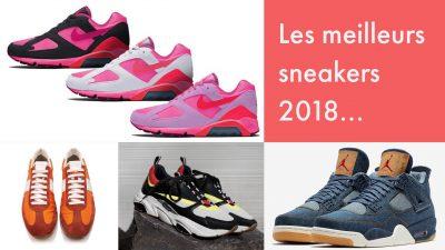 Les meilleurs sneakers 2018 - EOLE Paris
