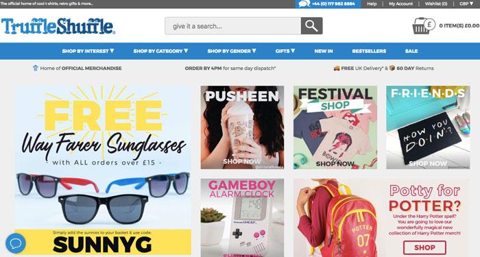 truffle shuffle -tshirts site web -eole paris