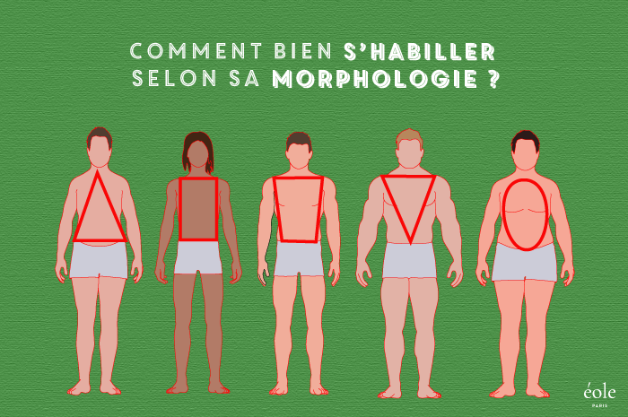 Morphologie Homme [Conseils & Test, Astuces Mode, Infographies]
