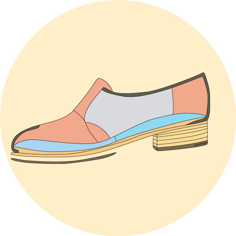 Anatomie de la chaussure - EOLE Paris 3