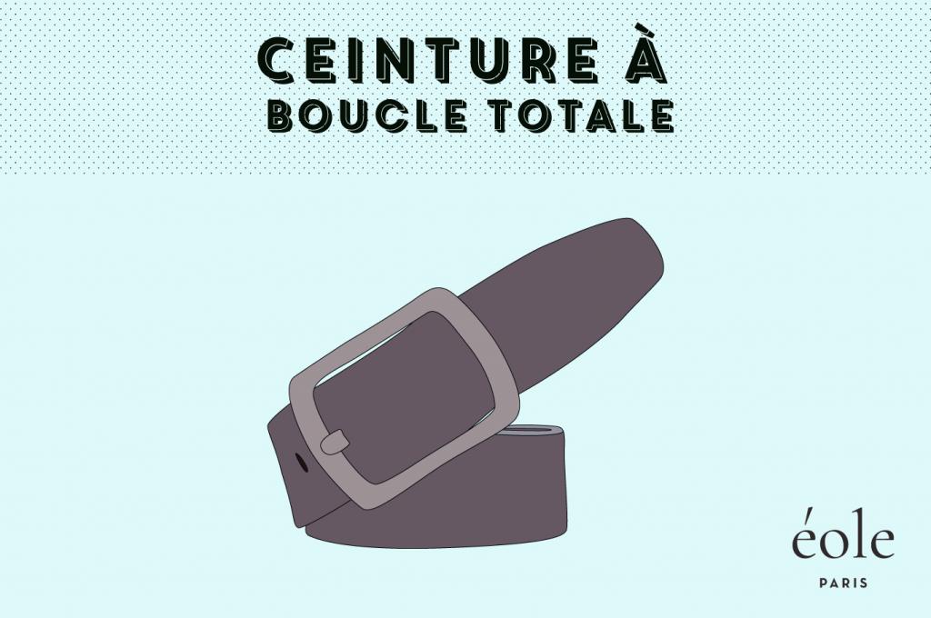 Ceinture a boucle totale - EOLE paris 1