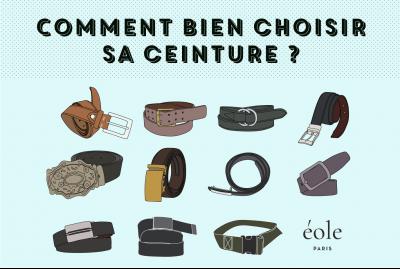Comment bien choisir sa ceinture - EOLE PARIS 1