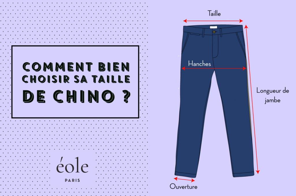 Comment bien choisir sa taille de chino - EOLE PARIS 3
