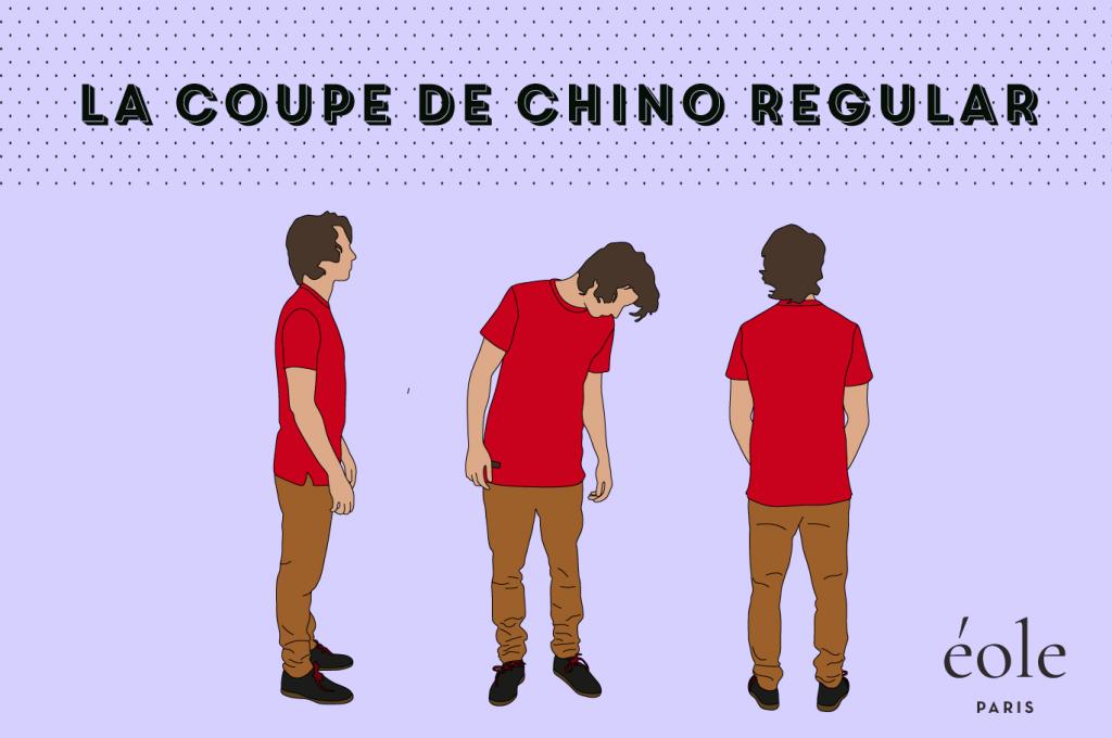 Coupe de chino regular - EOLE Paris
