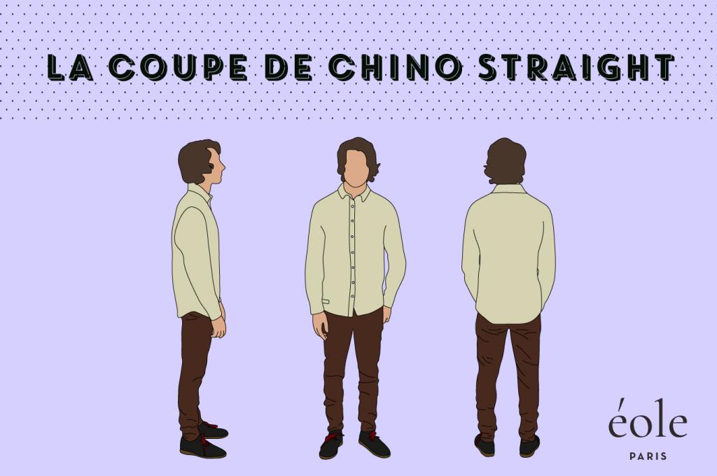 Coupe de chino straight - EOLE Paris