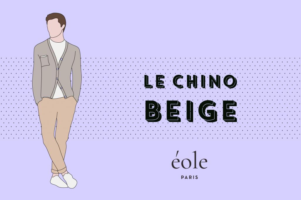 Le chino beige - EOLE PARIS 4