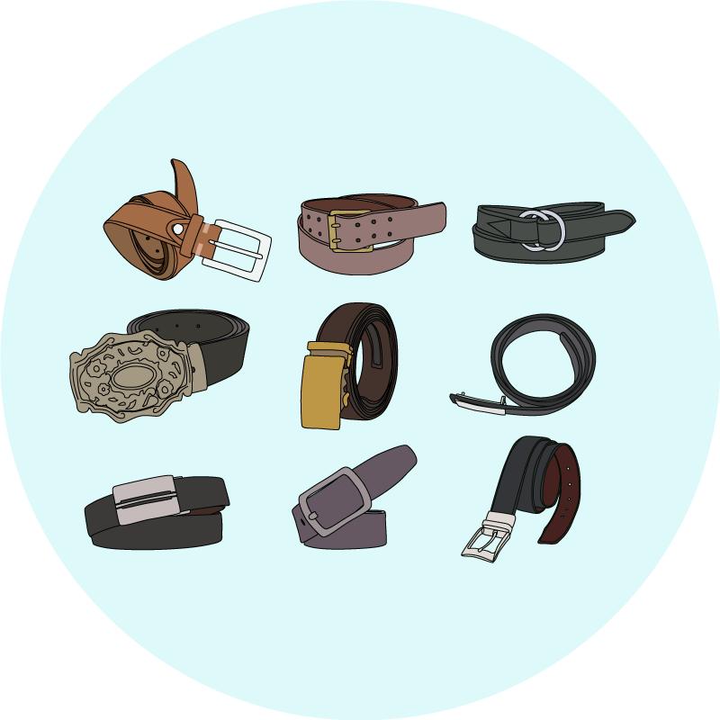 Les boucles de ceinture choisir - EOLE Paris
