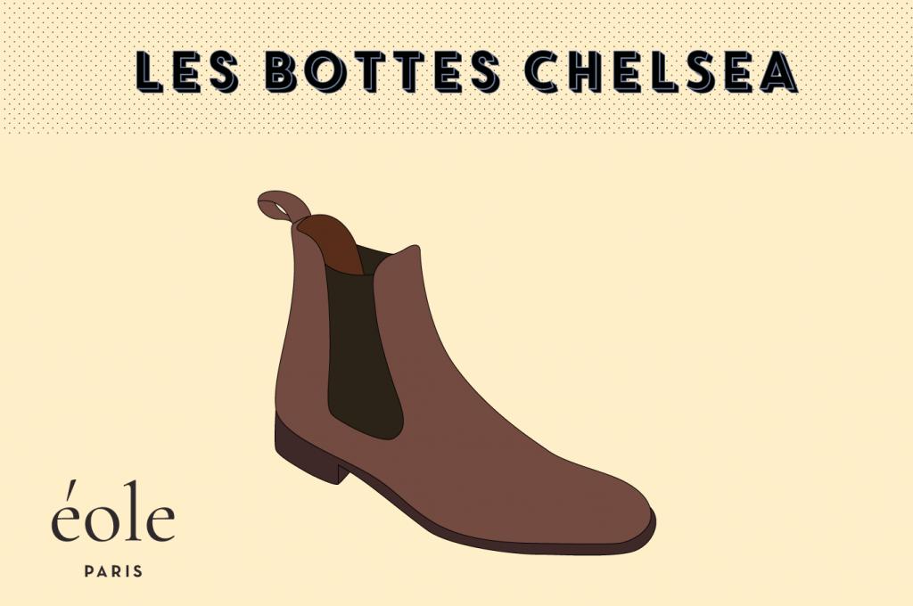 Les bottes chelsea - EOLE Paris