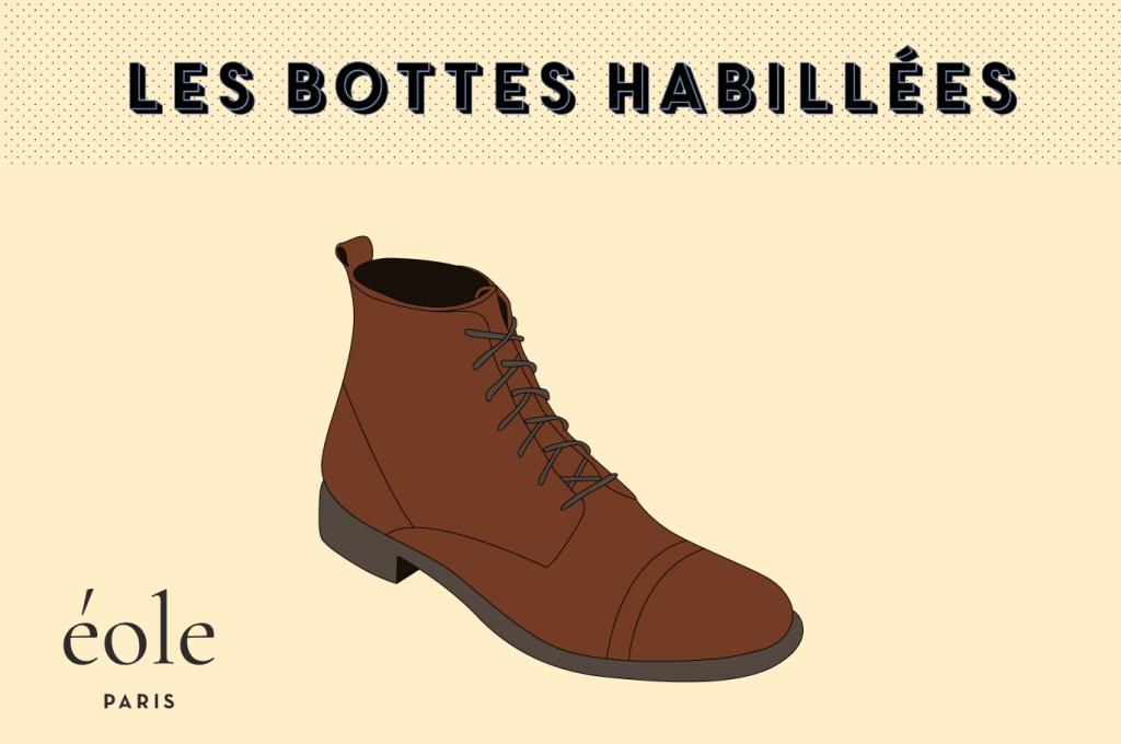 Les bottes habillees - EOLE PARIS