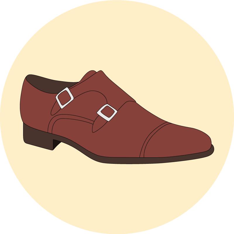 Les chaussures a boucles - EOLE PARIS