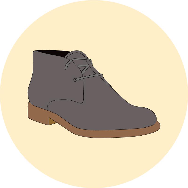 Les bottes chukka - EOLE Paris