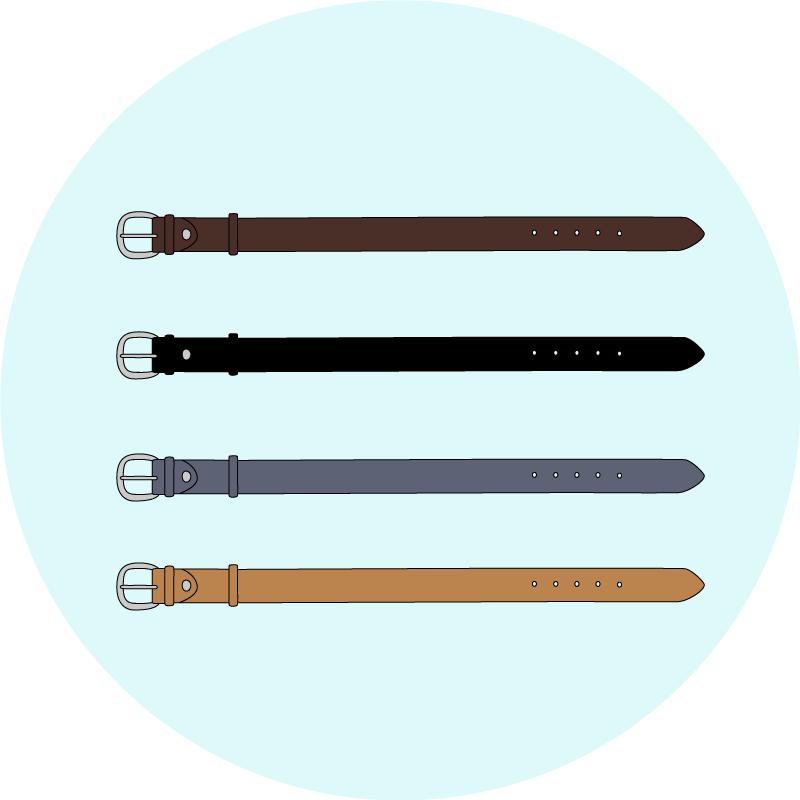 Choisir votre couleur pour votre ceinture - EOLE Paris
