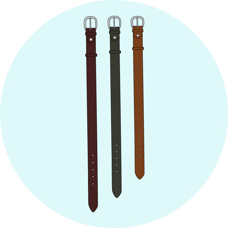 Les tailles de ceinture - EOLE Paris