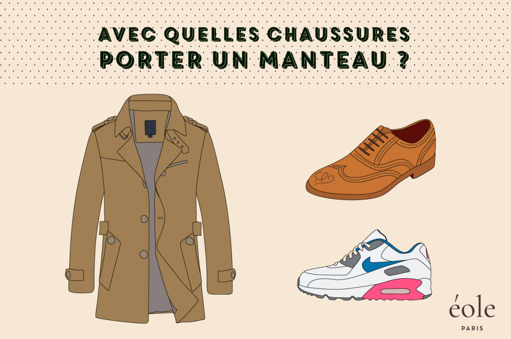 Avec quelles chaussures porter un manteau - EOLE PARIS