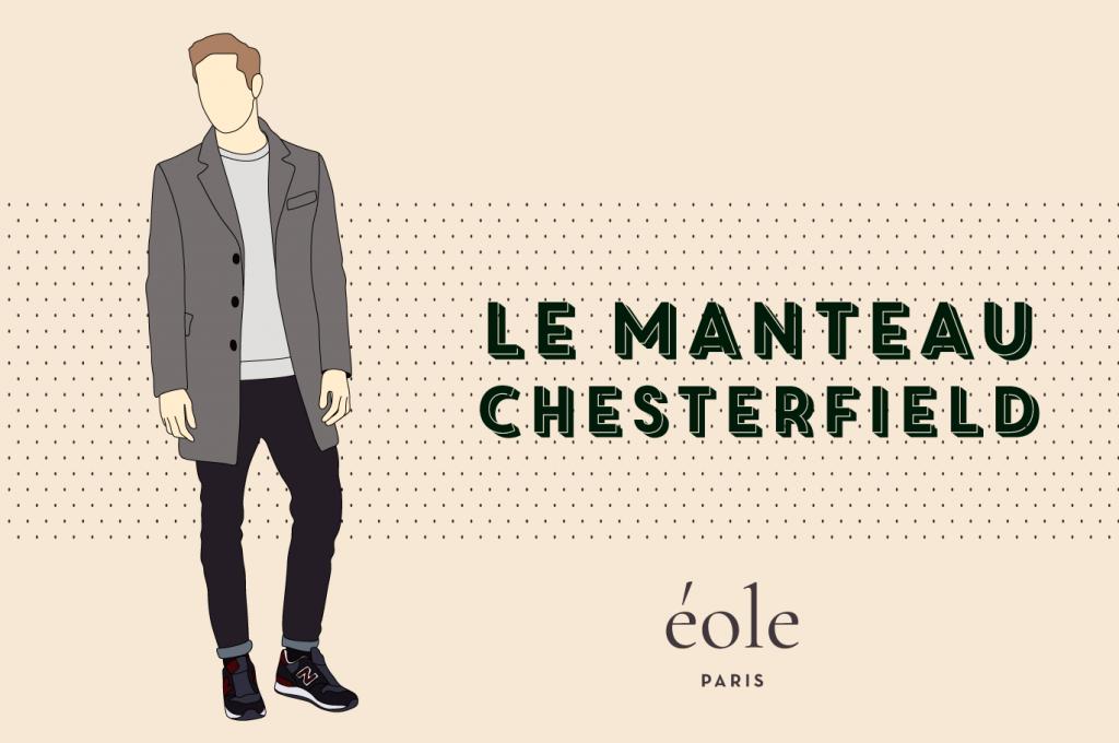 Le manteau Chesterfield - EOLE PARIS