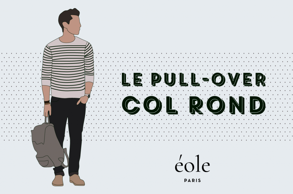 Le pull-over col rond - EOLE PARIS