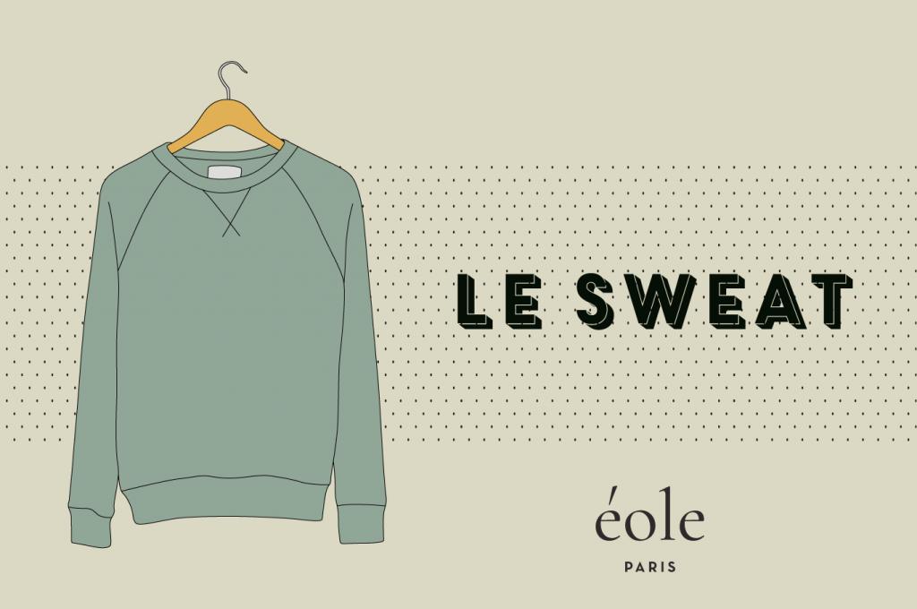 Le sweatshirt - EOLE PARIS