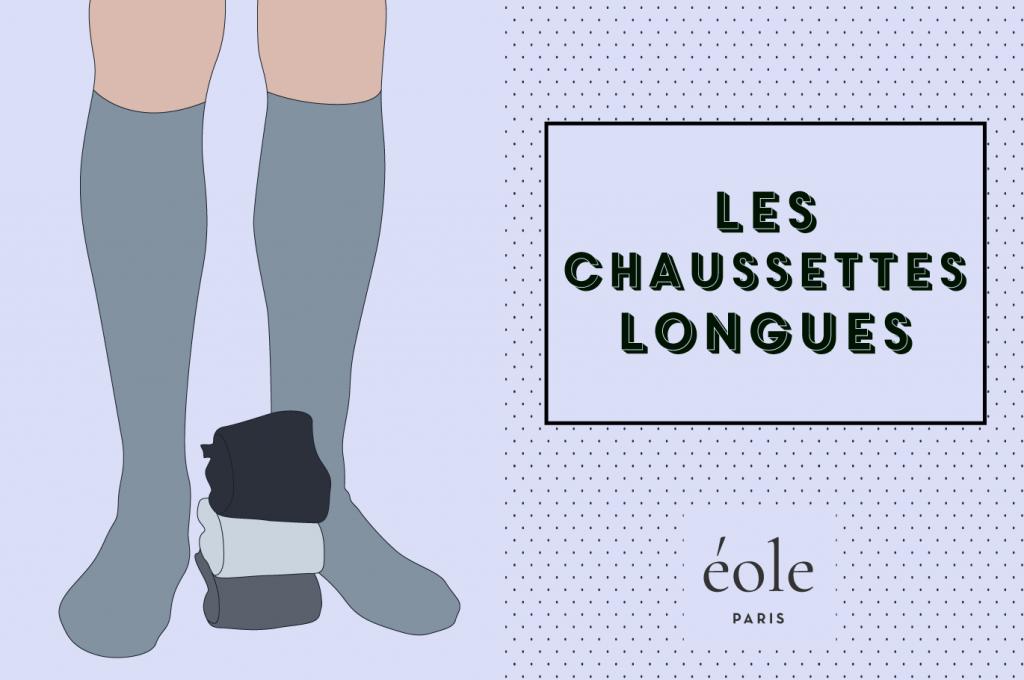 Les chaussettes longues - EOLE PARIS