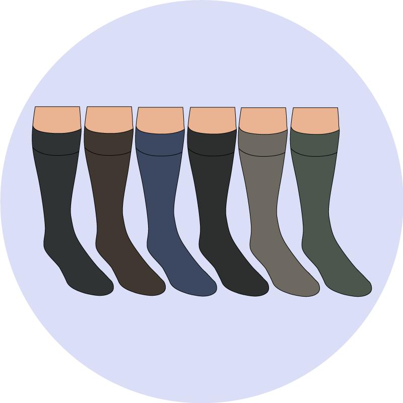 Les couleurs de chaussettes - EOLE PARIS