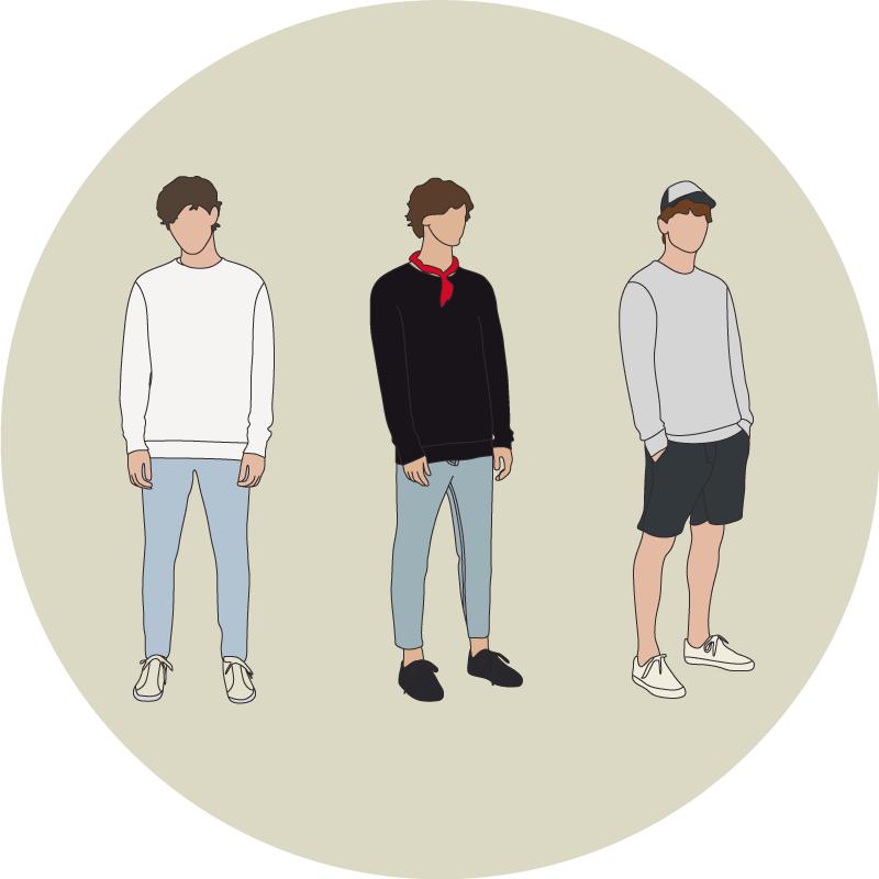 Les couleurs sweatshirts - EOLE PARIS