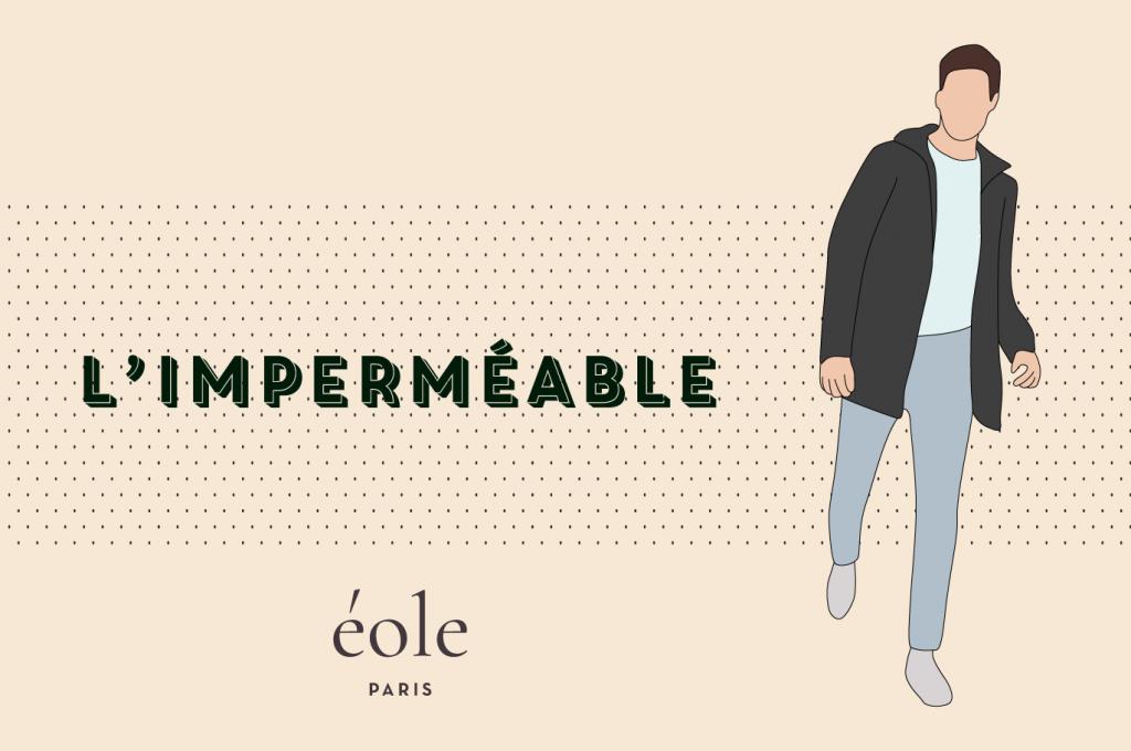 Manteau impermeable - EOLE PARIS