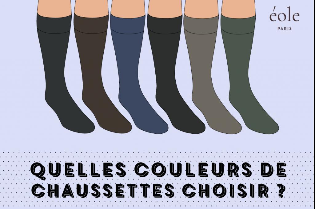 Quelles couleurs de chaussettes choisir ? EOLE PARIS