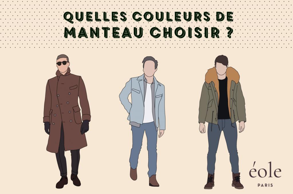 Quelles couleurs de manteau choisir - EOLE PARIS