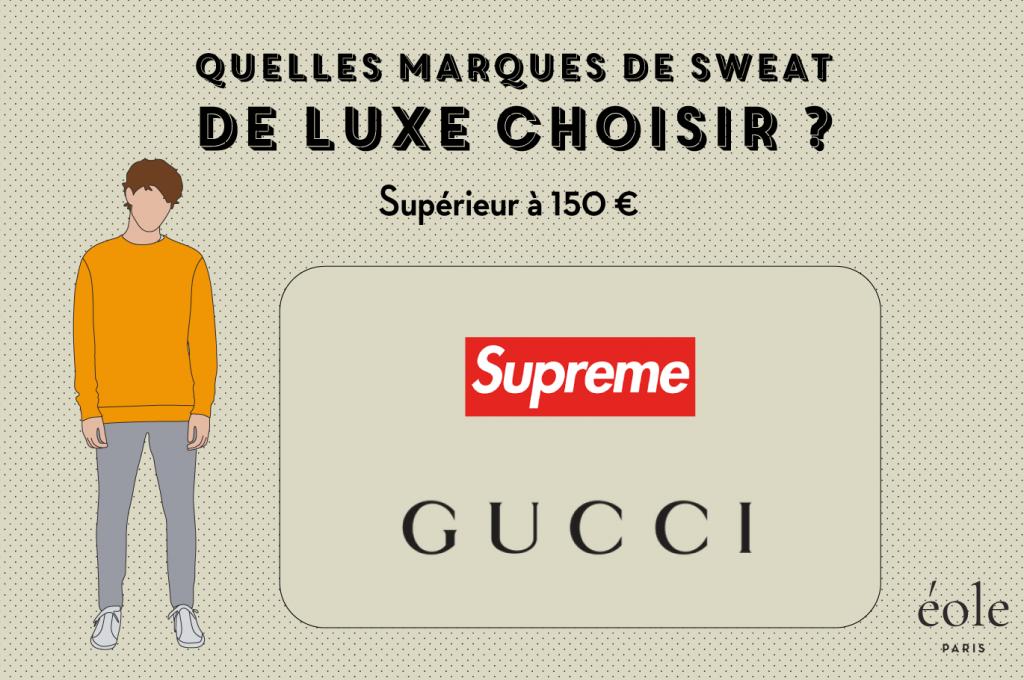 Quelles marques de sweat de luxe choisir - EOLE PARIS