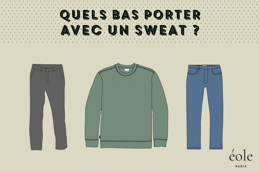 Quels bas porter avec un sweatshirt - EOLE PARIS
