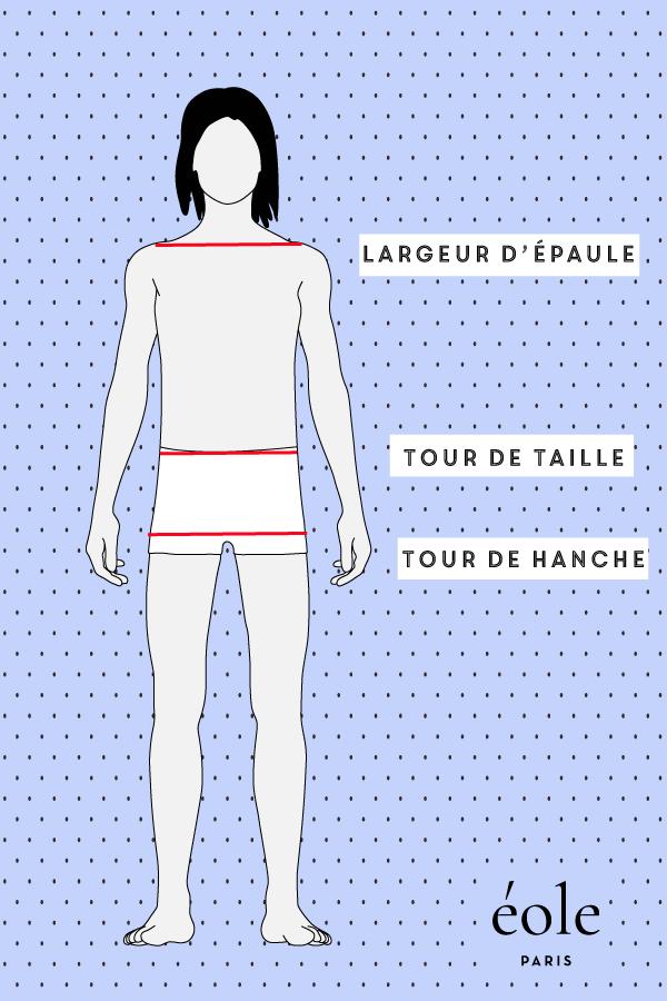 Votre tour taille est-elle de la même largeur que vos épaules et vos hanches ?