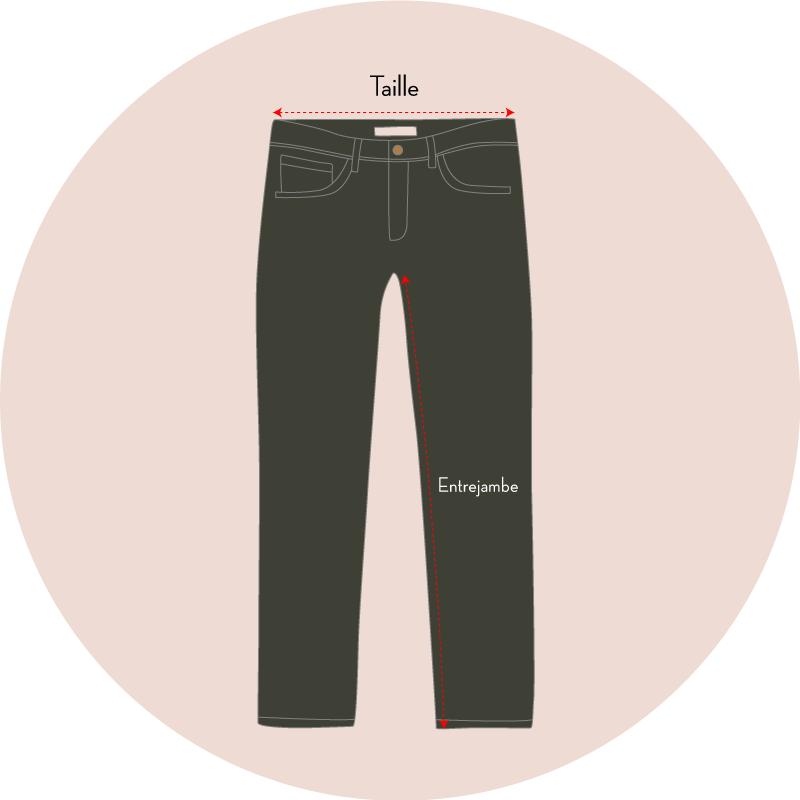 tailles pantalons - eole paris