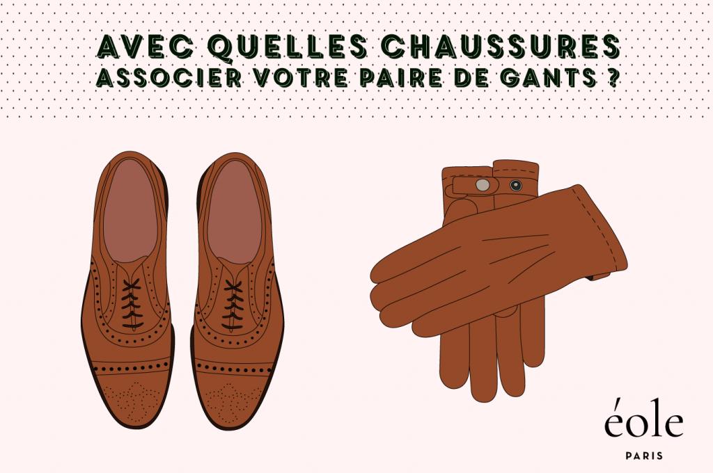Avec quelles chaussures associer votre paire de gants ? EOLE PARIS