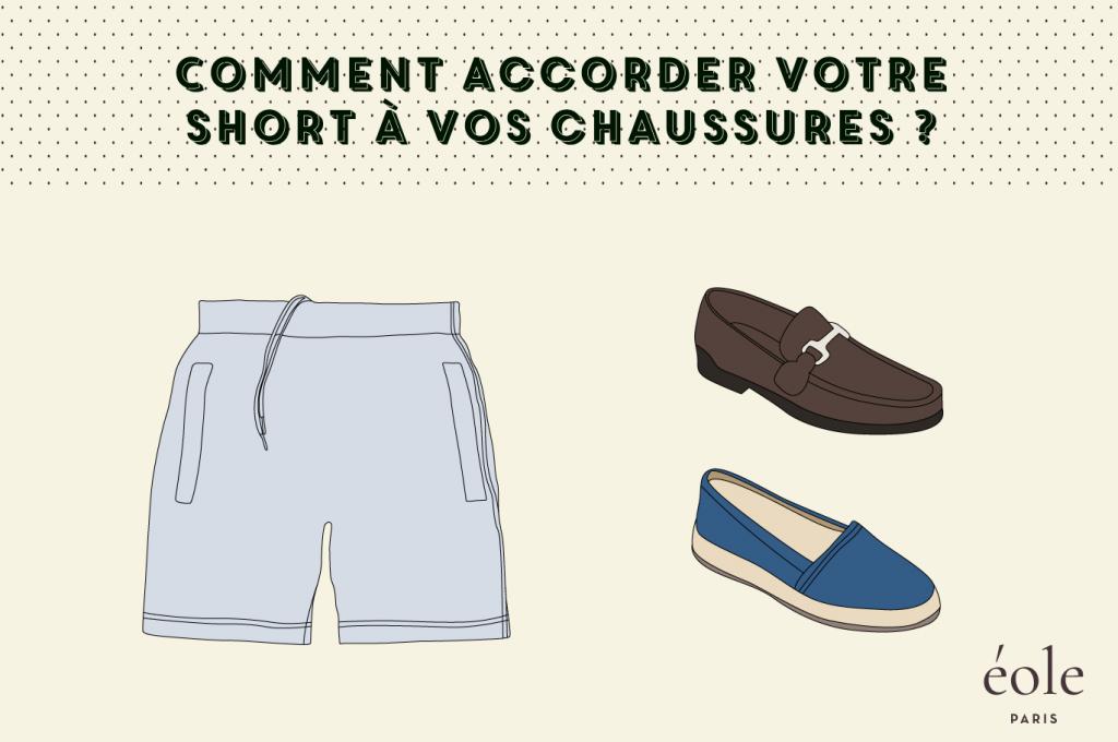 Comment accorder votre short à vos chaussures ? ÉOLE PARIS