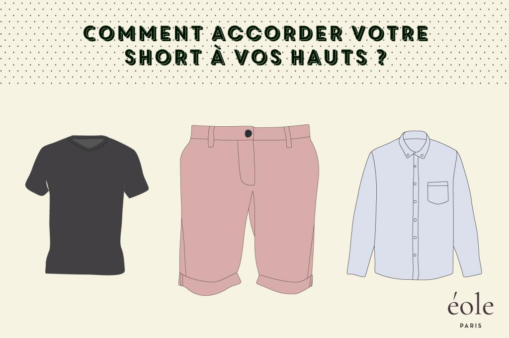 Comment accorder votre short à vos hauts ? ÉOLE PARIS