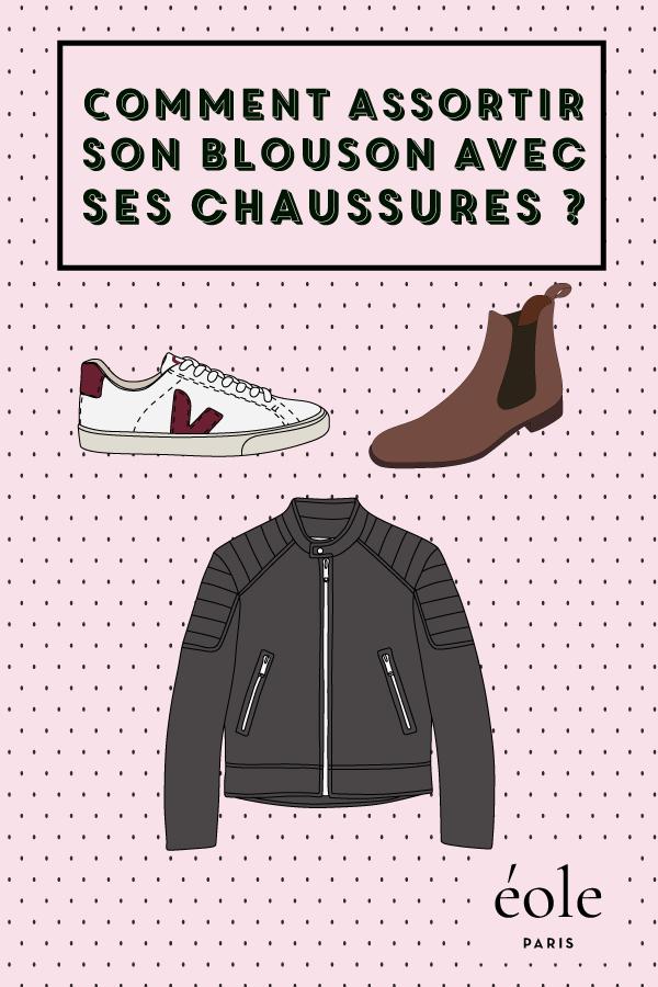 Comment assortir son blouson avec ses chaussures ? EOLE PARIS