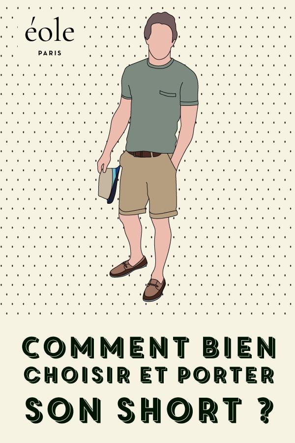 Comment bien choisir et porter son short ? EOLE PARIS