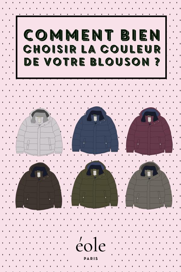 Comment bien choisir la couleur de votre blouson ? EOLE PARIS