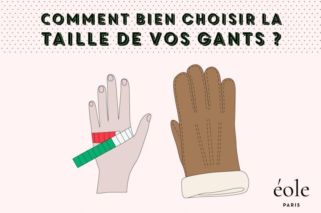 Comment bien choisir la taille de vos gants ? EOLE PARIS