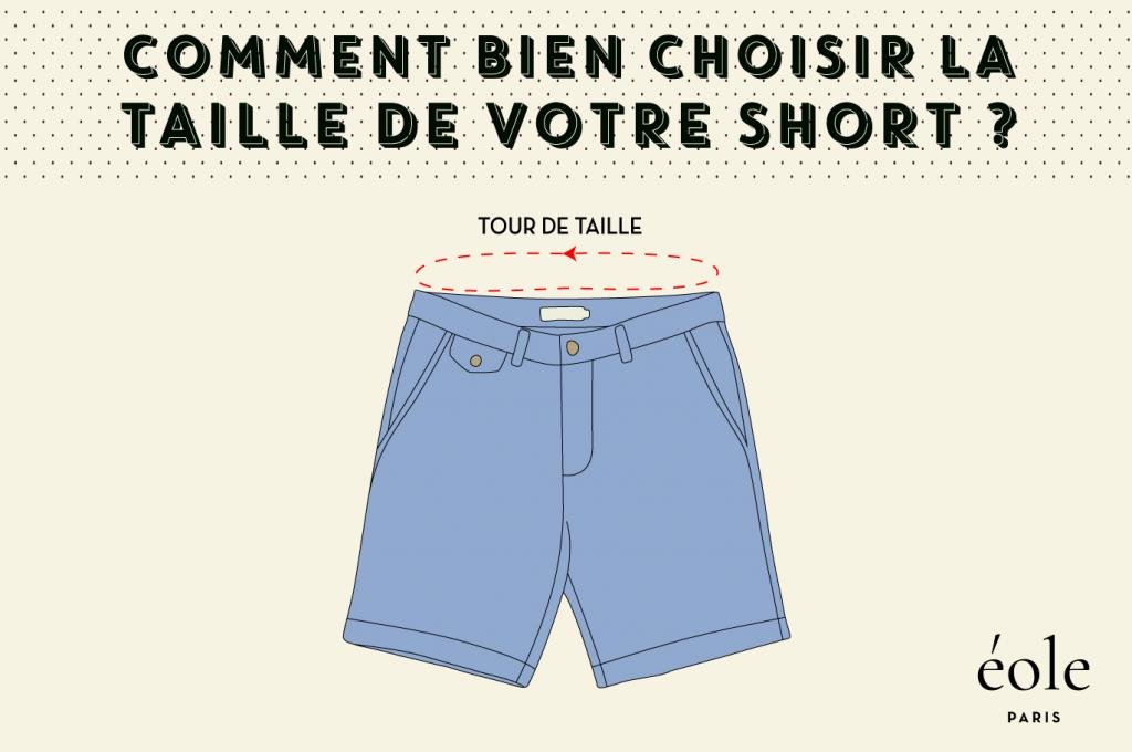 Comment bien choisir votre taille de short ? ÉOLE PARIS