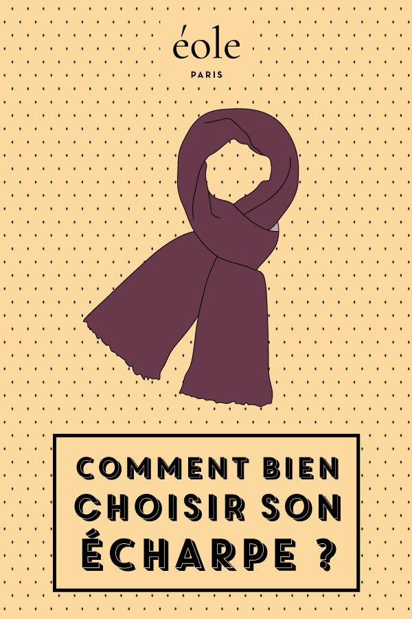 Comment bien choisir son écharpe ? EOLE PARIS