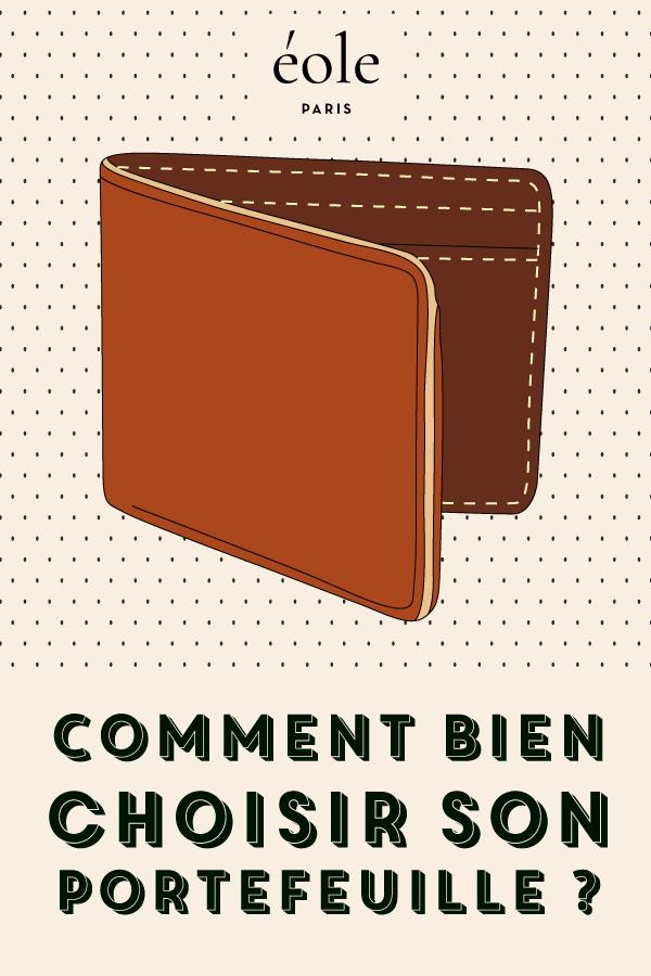 Comment bien choisir son portefeuille ? EOLE PARIS