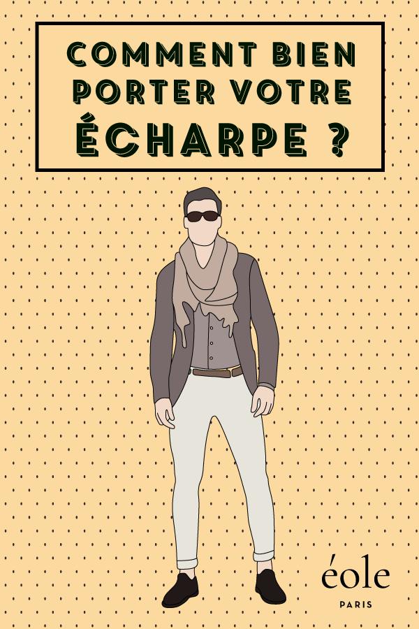 Comment bien porter votre écharpe ? EOLE PARIS