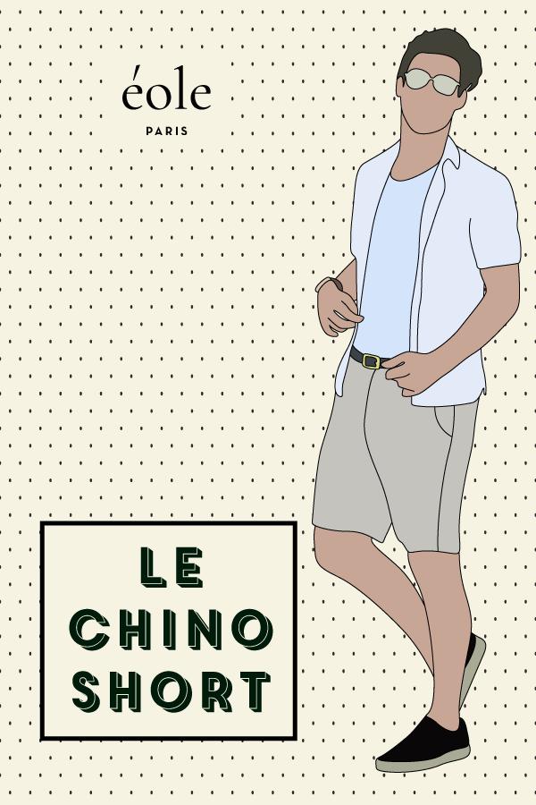 Le chino short - EOLE PARIS