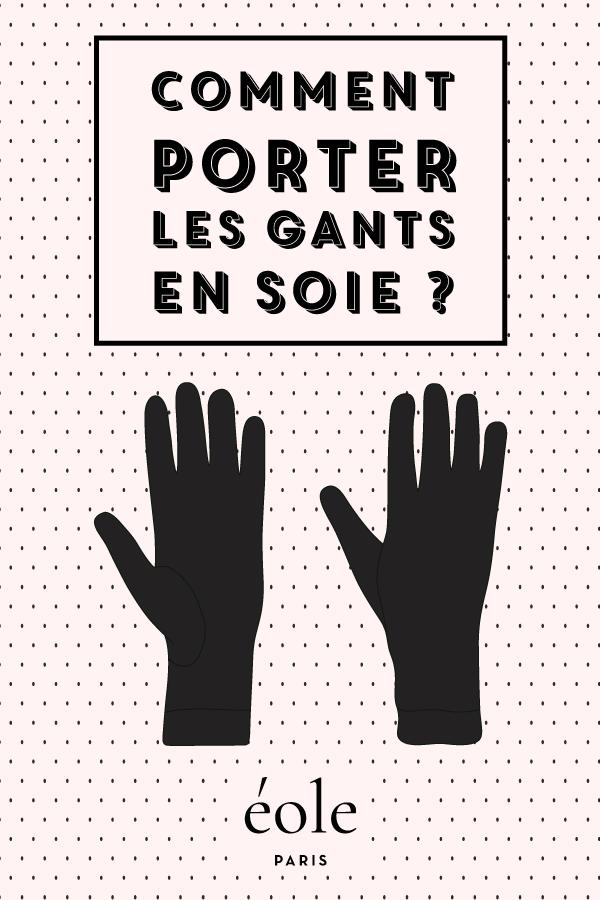 Comment porter les gants en soir ? EOLE PARIS