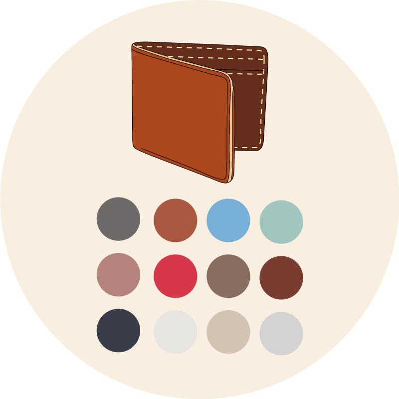 Les couleurs de portefeuilles - EOLE PARIS