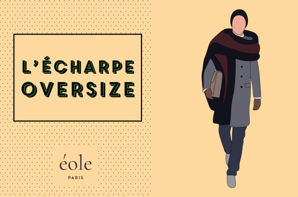 Écharpe oversize - EOLE PARIS