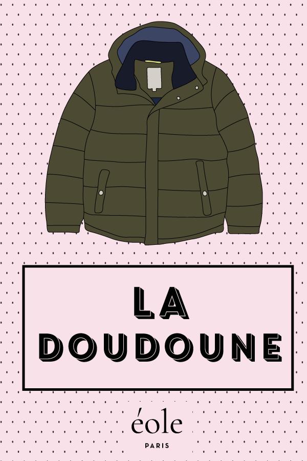 La doudoune - EOLE PARIS