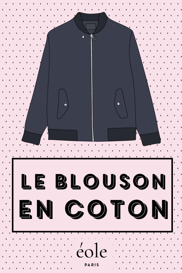 Le blouson en coton - EOLE PARIS