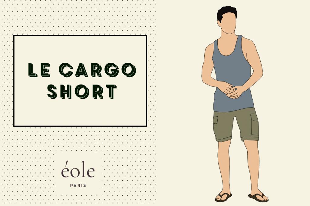 Le short cargo - EOLE PARIS